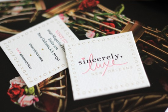 Sincerely Luxe Boutique Branding