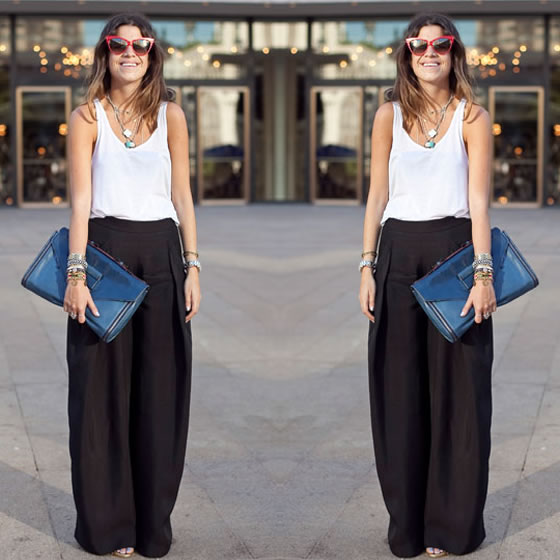 Spring Style - The Palazzo Pant - 10thirteen